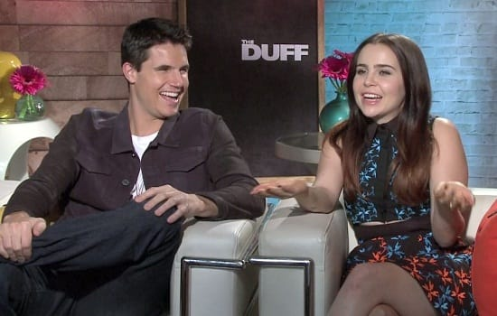 Robbie Amell Mae Whitman Photo
