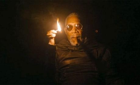 Morgan Freeman Stars in Oblivion