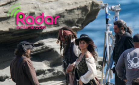 Penelope Cruz Spotted on the Set of Pirates of the Caribbean: On Stranger Tides!