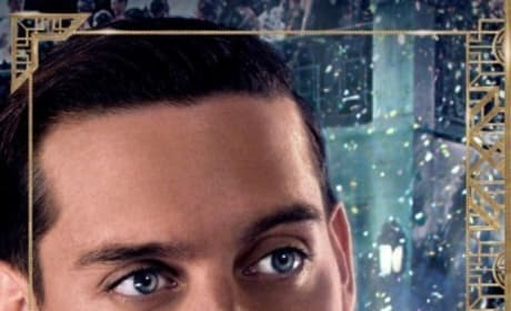 The Great Gatsby Toby Maguire Poster
