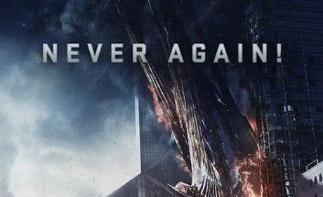 Ender's Game Never Again Poster