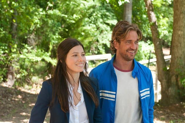 Gerard Butler Jessica Biel Playing for Keeps
