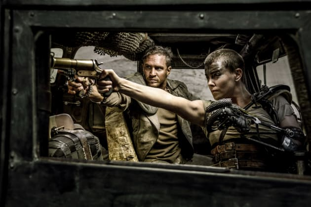 Mad Max Fury Road Tom Hardy Charlize Theron