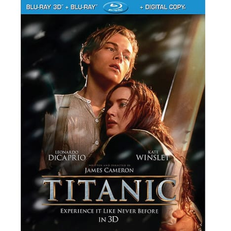 Titanic Blu-Ray Cover