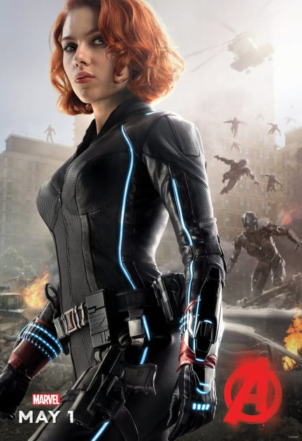Black Widow's Ready for a Fight!