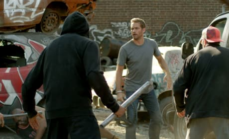 Paul Walker Brick Mansions Action Shot