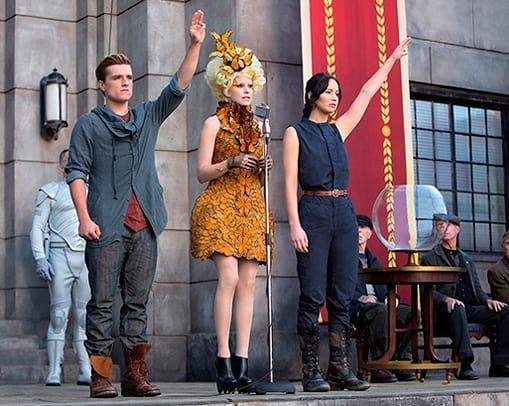 The Hunger Games Cathcing Fire Jennifer Lawrence Elizabeth Banks Josh Hutcherson