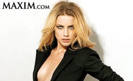Amber Heard in Maxim
