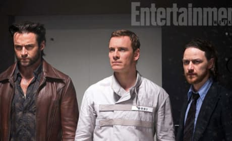 X-Men Days of Future Past Hugh Jackman James McAvoy Michael Fassbender
