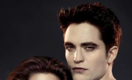 Kristen Stewart and Robert Pattinson Breaking Dawn Part 2