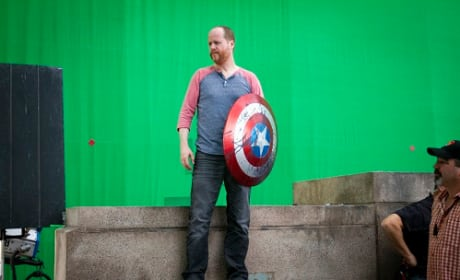 Joss Whedon on The Avengers Set
