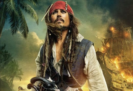 Johnny Depp is Captain Jack Sparrow
