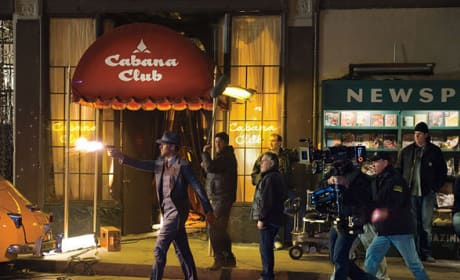 Ryan Gosling Gangster Squad Set Photo
