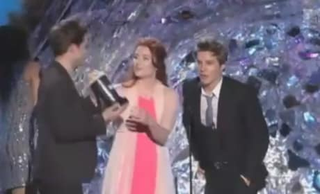 MTV Movie Awards: Robert Pattinson Kisses Taylor Lautner and Other Top 5 Moments