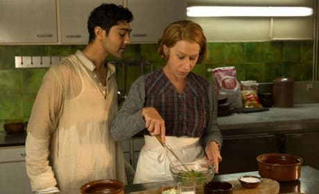 Helen Mirren Manish Dayal The Hundred Foot JOurney