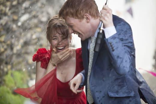 Domhnall Gleeson Rachel McAdams About Time