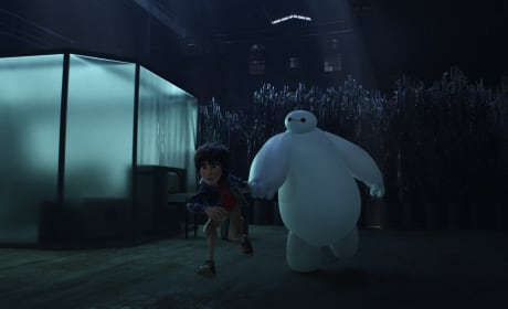 Big Hero 6 Characters Hiro and Baymax