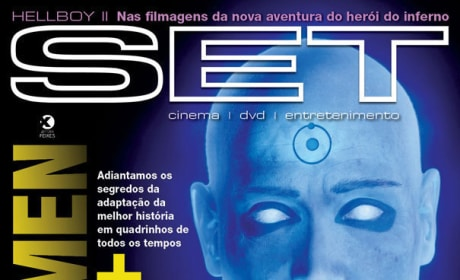 Dr. Manhattan Magazine Cover
