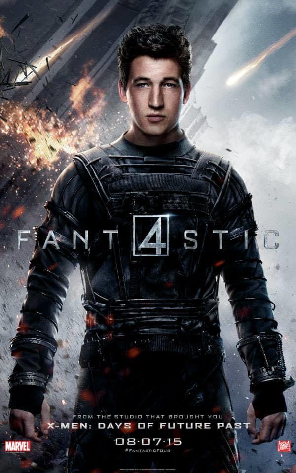 Fantastic Four Character Poster Mr. Fantastic