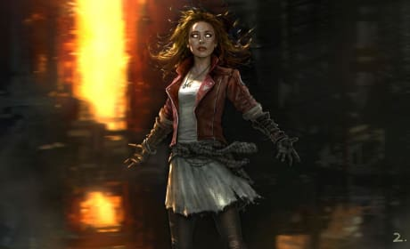 Avengers Age of Ultron Scarlet Witch Concept Art