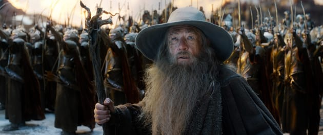 Gandalf Sees Something Wicked This Way Comes