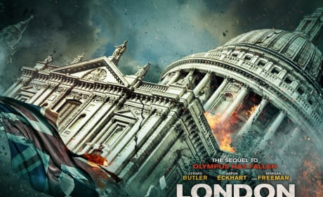London Has Fallen Parliament Poster