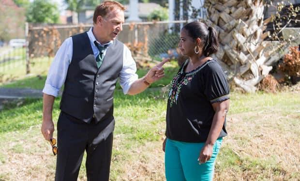Kevin Costner and Octavia Spencer Battle