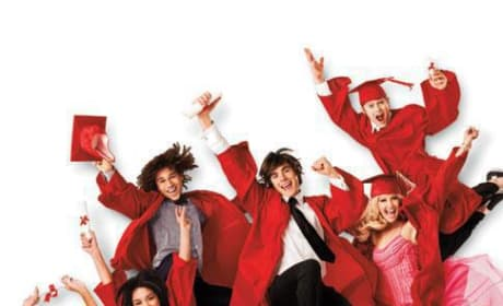 The Movie Poster for High School Musical 3: Senior Year