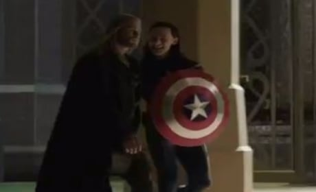Thor The Dark World DVD Bonus Clip: Loki as Captain America!