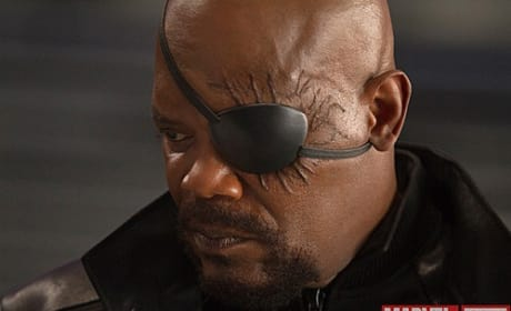 The Avengers Photos: Nick Fury Close-Up