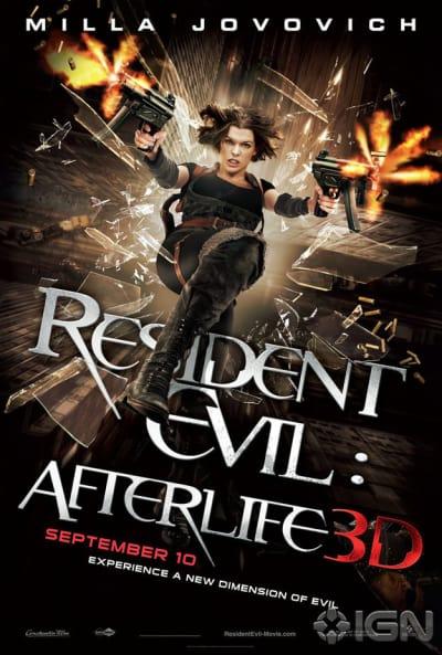 Resident Evil: Afterlife  Falling Poster
