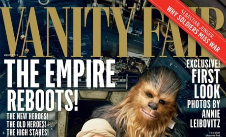 Star Wars The Force Awakens Vanity Fair Photo