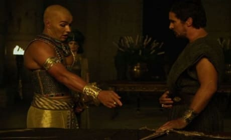 Exodus Gods and Kings Clip: Moses & Ramses Clash