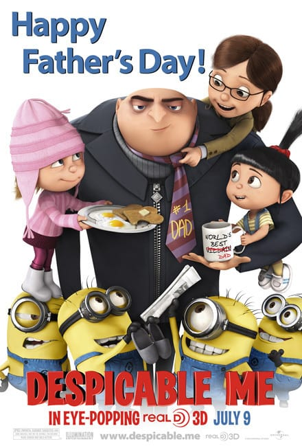 Despicable Me Father's Day Poster