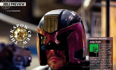 Judge Dredd First Look: Karl Urban in Costume!