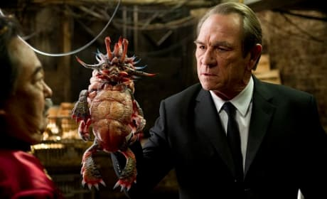 Men in Black 3: Tommy Lee Jones Talks Tough