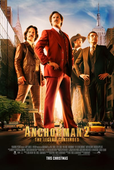 Anchorman 2 Movie Poster