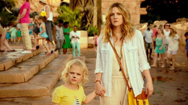 Drew Barrymore Bonds with Adam Sandler's Kid