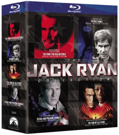 The Jack Ryan Collection DVD