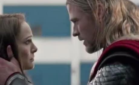 Thor The Dark World Natalie Portman Chris Hemsworth