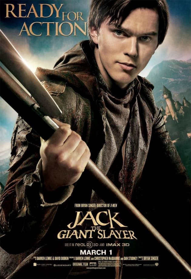 Nicholas Hoult Jack the Giant Slayer Character Poster