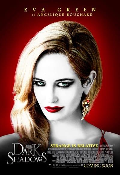 Dark Shadows Eva Green Character Poster