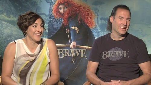 Katherine Sarafian and Mark Andrews Talk Brave