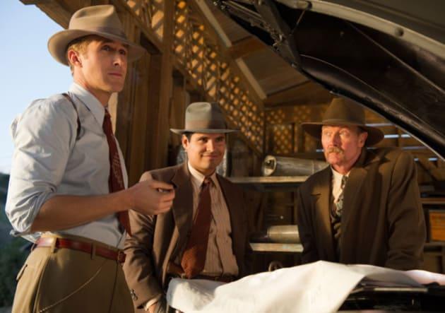 Ryan Gosling Michael Pena Gangster Squad