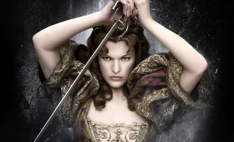 Milla Jovovich in The Three Musketeers