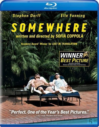 Somewhere Blu-Ray/DVD Cover