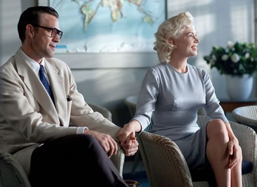 Dougray Scott and Michelle Williams in My Week with Marilyn