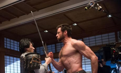 The Wolverine Set Photo: Hiro Sanada Fights Hugh Jackman