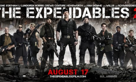 The Expendables 2 Banner Shows All the Stars at Their Most Menacing