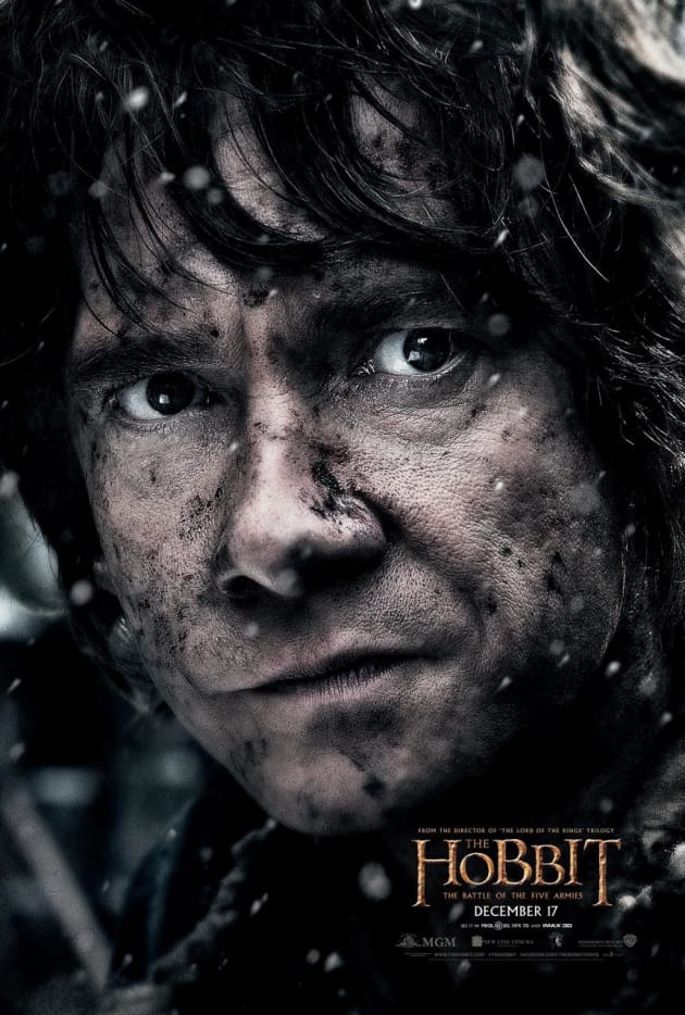 The Hobbit The Battle of the Five Armies Martin Freeman Bilbo Poster